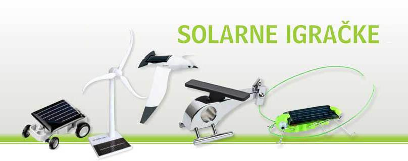 Solarne igračke ARA SOLAR