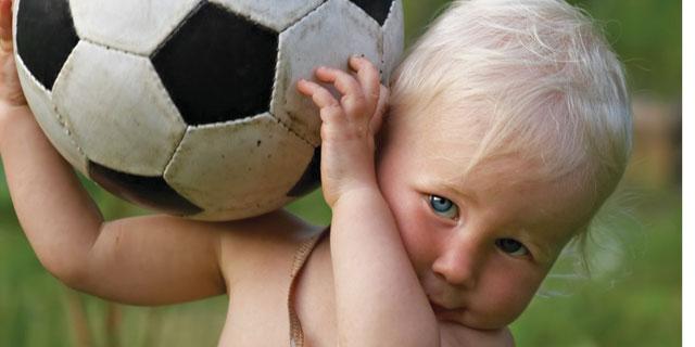 Kako zabaviti djecu do tri godine starosti