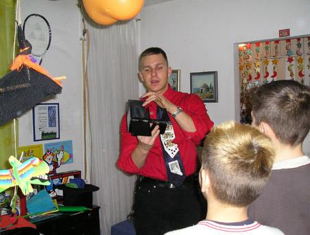 Mađioničar Vladimir Štimac slika