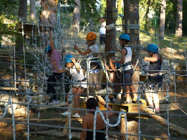 Adrenalin park Crikvenica slika