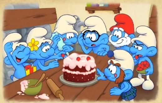 Štrumfovi čestitaju rođendan