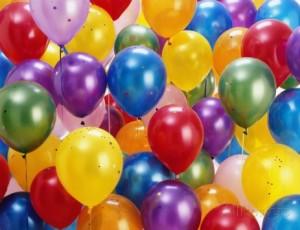 Baloni za partijanje u dućanu Boom u Splitu