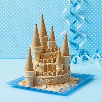 "Torta ""Visoki pješčani dvorac"""
