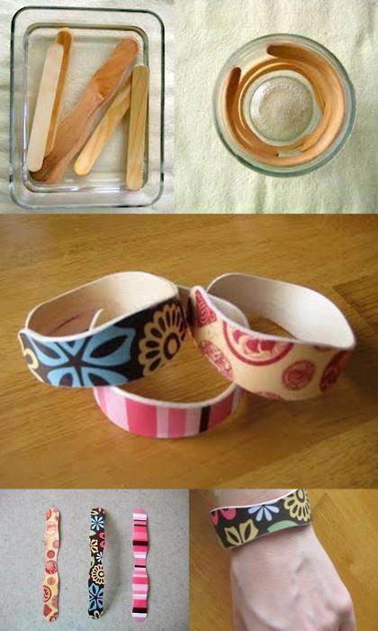 Kako napraviti narukvice od sladolednih štapića