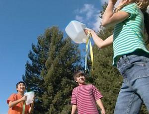 Hvatanje vodenog balona!