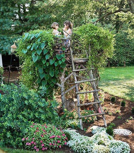 Kako napraviti kućicu na stablu