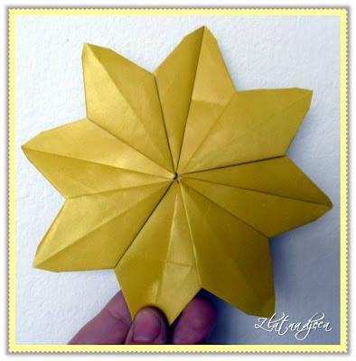 Origami cvijet