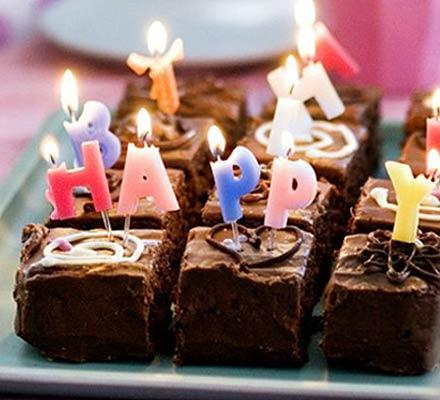 Čokoladna rođendanska torta