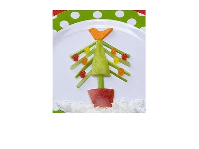 Božićna salata za djecu
