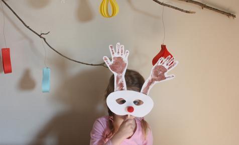 Uradi sam: Božićne maske