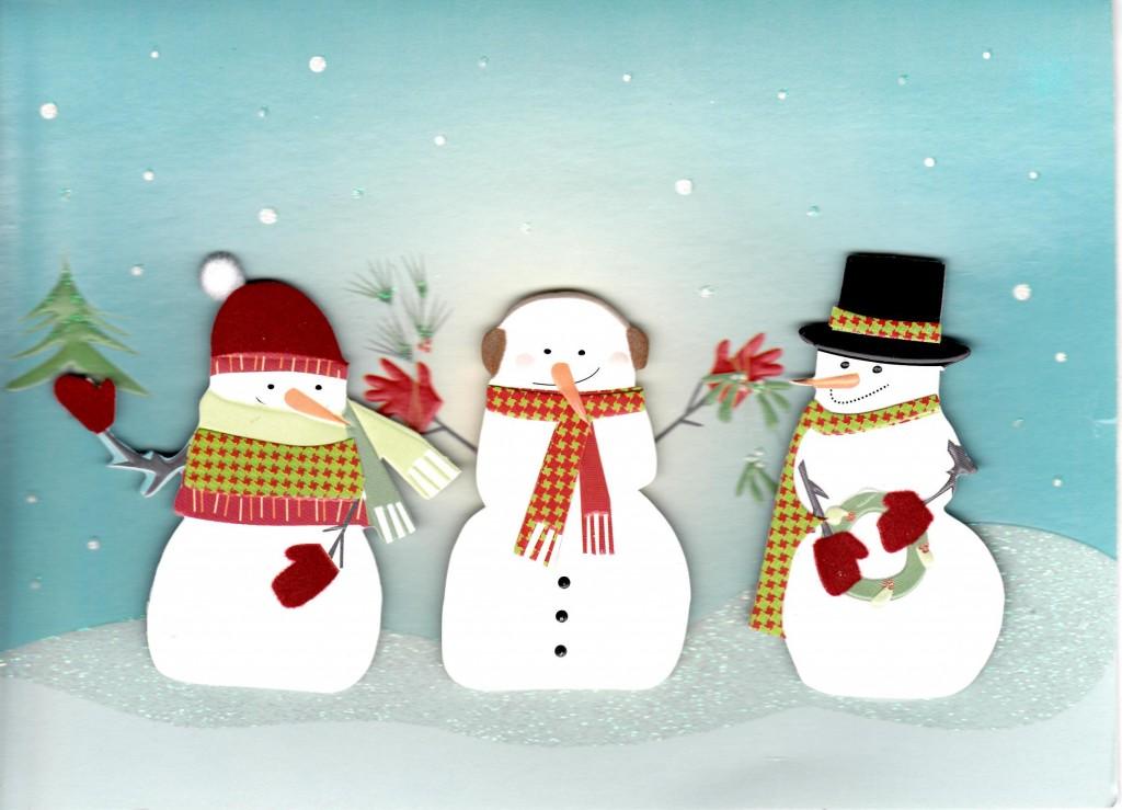 Zbunjeni snjegović