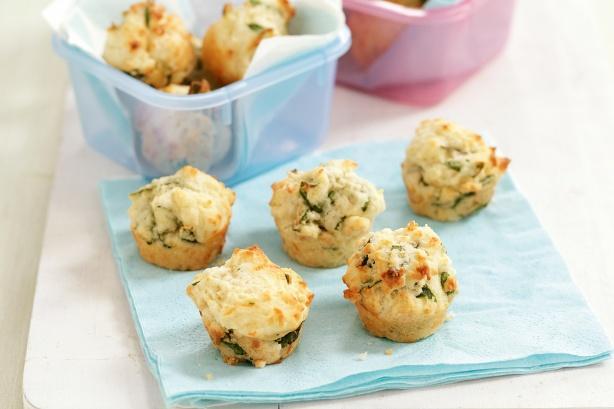 Muffini od špinata i sira