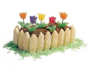 Mini cvjetnjak torta