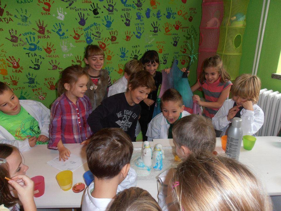 Znanost i zabava za djecu uz
