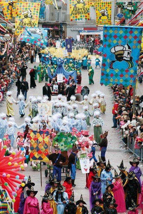 Karneval ili poklade u Hrvatskoj