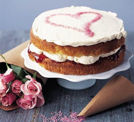 Torta od jagoda i arome vanilije