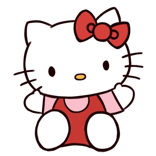 Kako nacrtati Hello Kitty