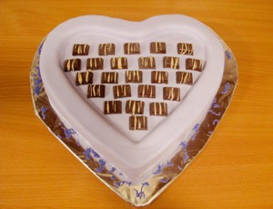Torta izgledom Bajadera - Recept Jaffa