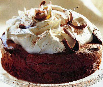 Čokoladna torta sa orasima i narančama by Meli cakes