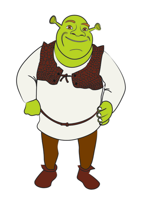Kako nacrtati Shreka