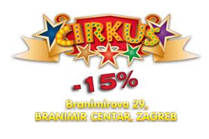 15% popusta na rođendan u Cirkus igraonici!