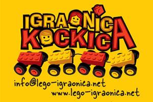 LEGO proljetni kamp u igraonici Kockica