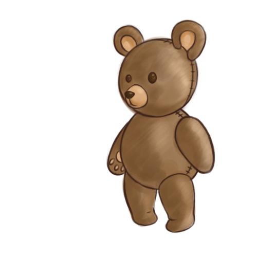 Kako nacrtati medvjedića