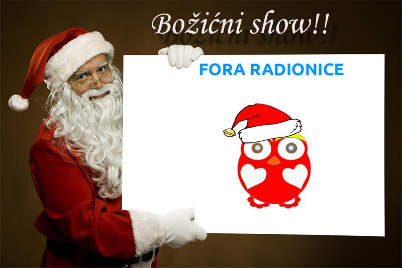 Božićni Fora znanstveni show