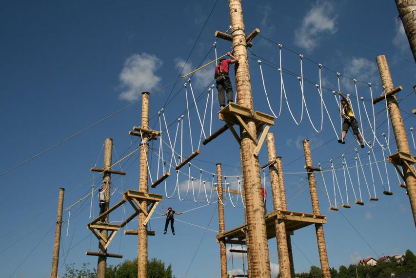 Adrenalinski centar Sv. Nedelja slika