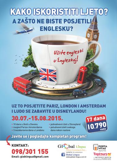 Prezentacija edukativnog putovanja i ljetne škole engleskog u Engleskoj