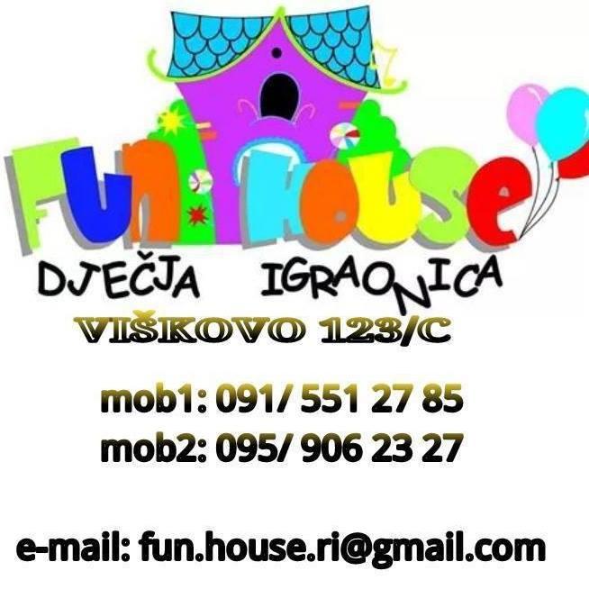 Dječja igraonica Fun house slika