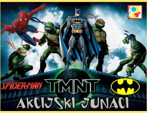 Tematski rođendan Action Heroes EN-TEN-TINI