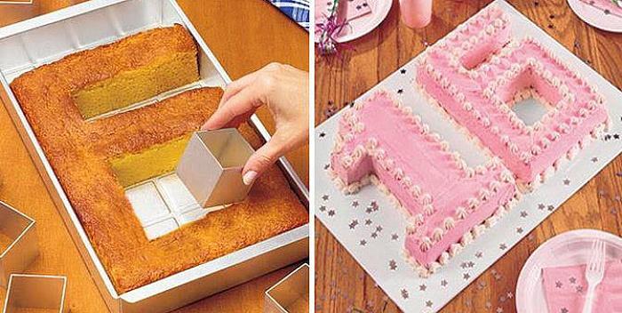 Kalup za rođendanske torte