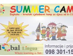 Global Lingua Ljetni kamp
