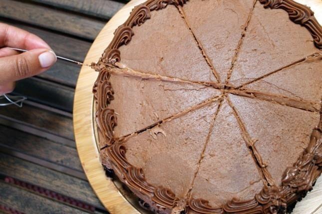 Najjednostavniji način rezanja torte