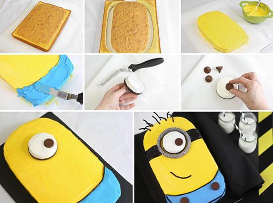 Minion torta ili muffini