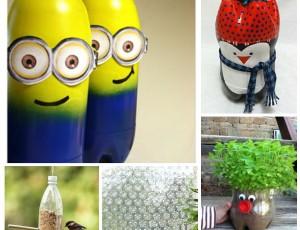 Zabavni i kreativni predmeti izrađeni od plastičnih boca