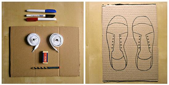 cipele vezanje