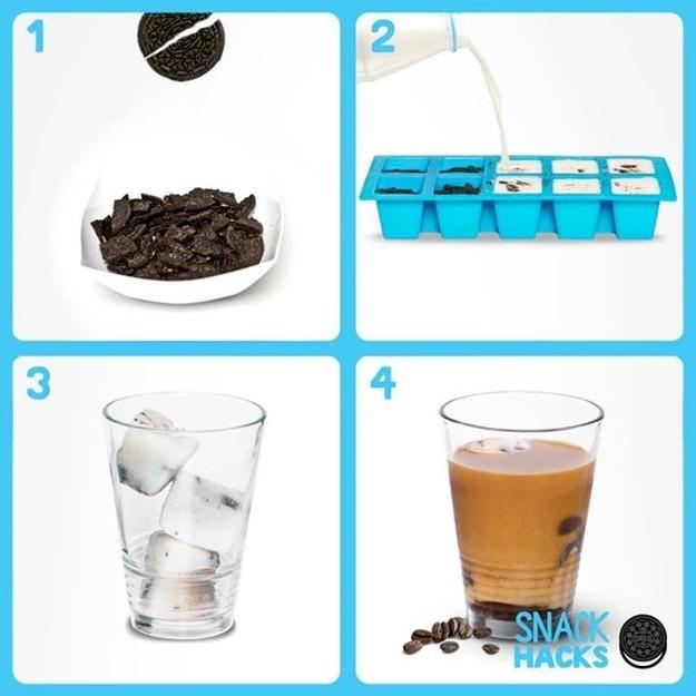 Kako napraviti Oreo ledenu kavu?