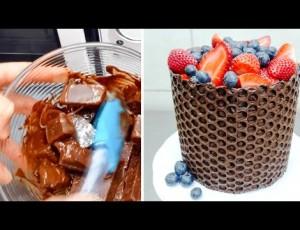 Odlična a jednostavna čokoladna dekoracija za torte