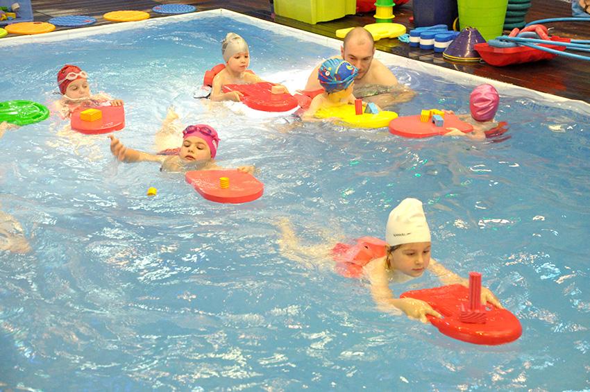 Mala sportska akademija 4-5-6  i škola plivanja za djecu od 3 do 7 godina