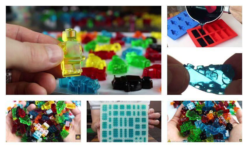 Napravi gumene LEGO bombone