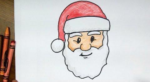 Kako nacrtati Djeda Božičnjaka