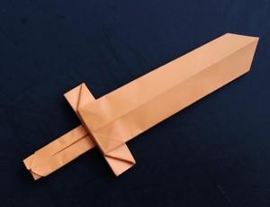 Napravite mač od papira