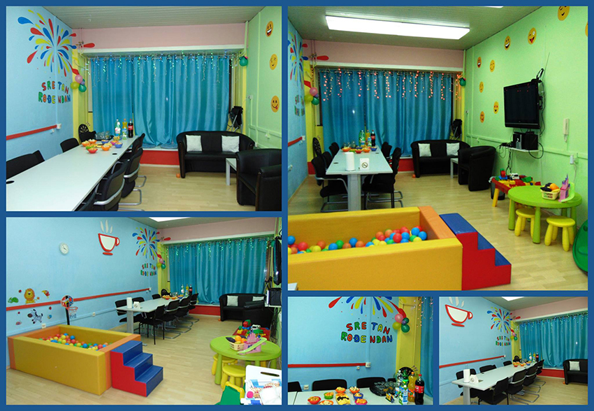 EN TEN TINI - preuređen Klub za roditelje s većim baby kutkom!
