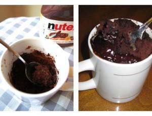 Brzinski Nutella kolač u čaši