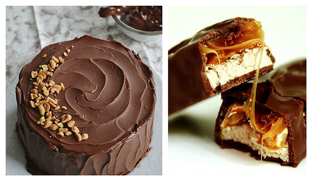 Snickers torta
