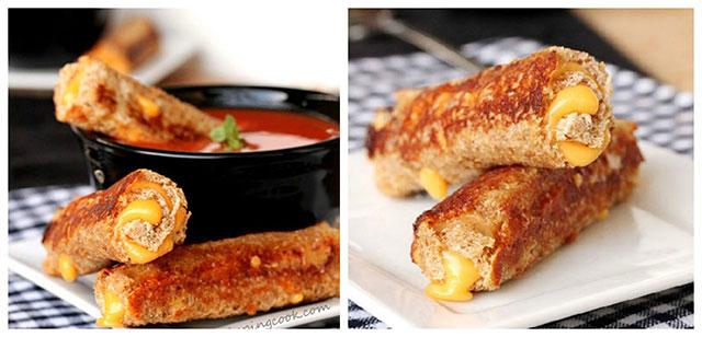 Pržene sir-tost rolice