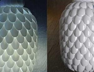 Napravite odličnu lampu od plastičnih žličica
