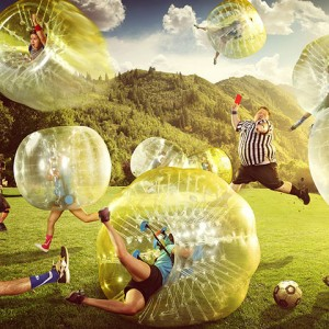 Bubble Football Dječji Rođendani NC DVOJKA ( Velesajam Paviljon 2)